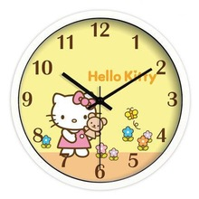hello kitt y clock for kids room(HJ-360)