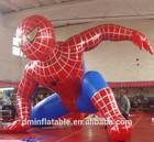 cartoon custom big inflatable spider man for gift