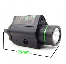 Tactical Military Style Rifle Gun Green Laser Sight for Outdoor Hunting Shooting Archery Airsoft Paintball