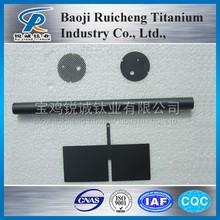 Best-selling Plate/Mesh/Tube/Wire/Bar Titanium Anodes for Electroplating Ruthenium Iridium Platinum Tantalum Coated