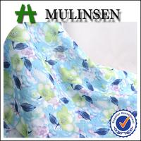 Mulinsen Textile Plain Woven Floral Printed 60S Cotton Voile Children Garment Fabric