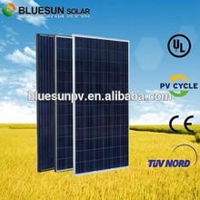 EU Stock anti dumping free BlueSun poly solar panel 250w