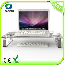 Innovative elegant practical detachable desktop computer shelf