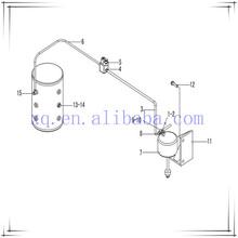 SDLG LG958 LG936 LG959 Parking Brake Air Reservoir 4120000506 wheel loader spare parts