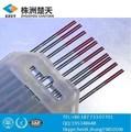 Hot ventes 1.6 mm* 150mm wt électrode de tungstène pour le soudage tig