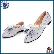 Flat design small size women shoes