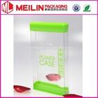mobile power tranparent PVC box