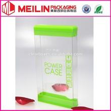 Puissance mobile tranparent PVC boîte