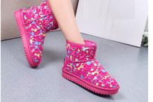 (E) 2015 Top Sale Fashion Keep Warm Casual Snow Woman Boot
