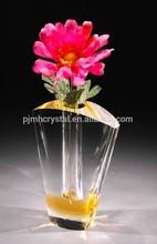 Best popular flower crystal vase MH-G0082