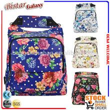 BSB103 PVC Flower Printing lightweight designer handbags fashion brand women bags