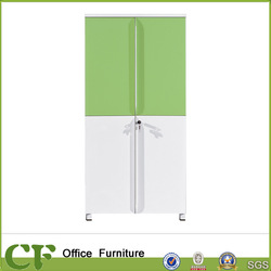 ChuangFan CF-F10313A white wood adjustable wall mounted cupboard design