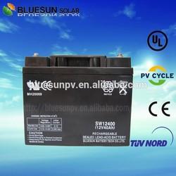 Bluesun deep cycle 12v 33ah dry cell solar battery