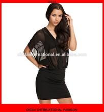 2015 New Fashion Ladies Dress Transparent Sexy Evening Dress