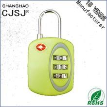 CJSJ Hot Sale TSA Padlock TSA-519 Digital TSA Combitation Lock