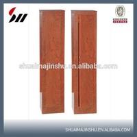 Hot sale on Italy market Laser cutting Wood grain gun cabinet
