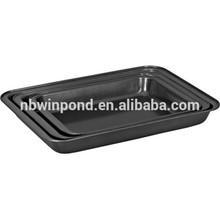 custom logo printing non-stick carbon steel roaster pan