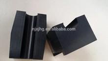 UHMW-PE Sleeper Pad /UHMW-PE Pipe support /Plastic vertical pipe