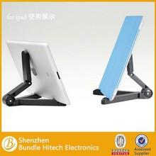 Universal plastic tablet holder, desk tablet holder stand for ipad mini, tablet holder for phone easy to use