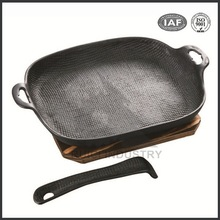 sizzling plate foundry china cast iron