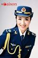 Mode femmes robe costume uniforme d'officier de police