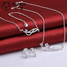 China Jewelry Wholesale Small Micro Pave Setting CZ Brass Jewlery Set
