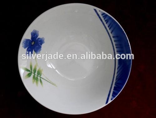 الاسبانية نمط الخزف أواني الطعام وعاء