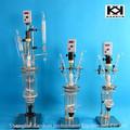 control de frecuencia doble capa de vidrio reactor de biodiesel