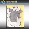 Texture peinture de moutons