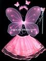 baratos alas de ángel tutú vestuario ala de mariposa vestido para los niños