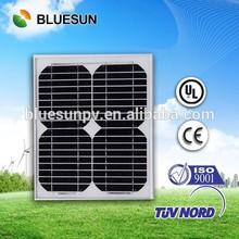 Small power BlueSun high efficient mono 10 watt solar panel