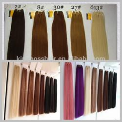 14''-24''100g no shedding, tangle free no acid no silicon double drawn remy brazilian human hair weft