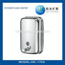 500ml stainless steel liquid soap dispenser, antique wall mounted soap dispenser