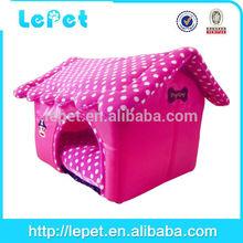 fashion dot fabric cat pet beds