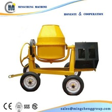 mobile diesel power concrete cement mixer for construction equipment