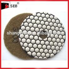 dry polishing pads for granite SEB-PP110650