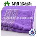 mulinsen textil de poliéster de punto elástico hacci suéter tejido con hilo de oro