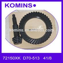 25966XK 72150XK D70-513 5.13 índice 41 - 8 dentes engrenagem motivo anel padrão e pinhão