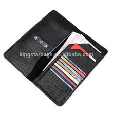 High Quality Bi-Fold Leather Checkbook Cover