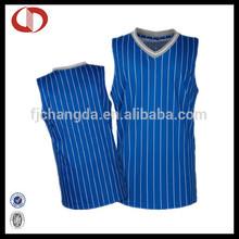 Cannda man jersey basketball new design color blue