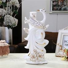 wholesale Fashion Style Porcelain Peacock Craft for wedding decor