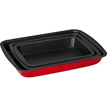 OEM carbon steel bakeware nonstick metallic cookie pan
