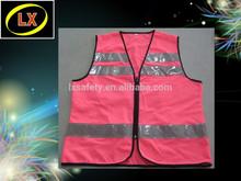 Customized Hi Vis High Viz Pink Vest
