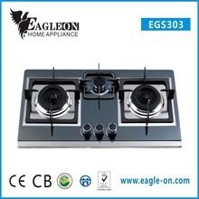 home appliance 3 brass burner gas stove