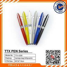 Custom logo screen touch ball pen, 4 in 1 multi-function ballpoint pen