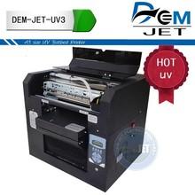 New CE flatbed printer uv white ink for pen