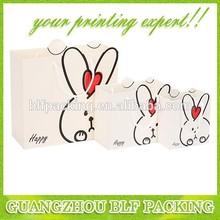 (BLF-PB136)Cute rabbit paper bag picture
