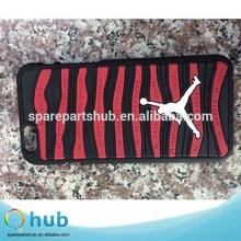 wholesale Rubber jordan case for iphone 5 5s, 6, 6 plus case, new desing jordan phone case