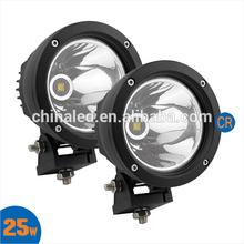 25W 2000LM MINI Round LED Work Light Spot Light Offroad Light for ATV Truck SUV Motobike Dirtbike