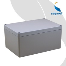 SAIP/SAIPWELL Industrial Distribution Box Diecast IP66 High Quality Gray Aluminium Enclosure 340*235*120